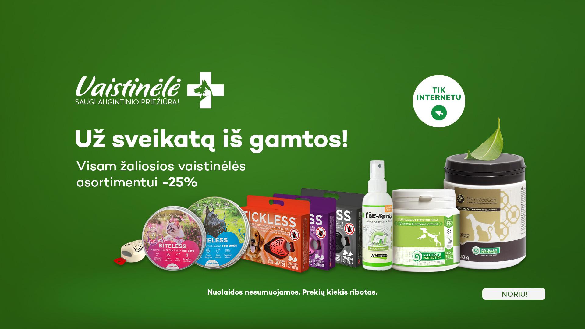 KIKA/ VAISTINĖLĖ -25%
