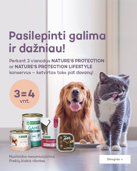 Nature's Protection ir Nature's Protection Lifestyle konservai 3=4