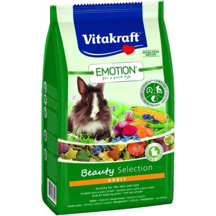 VITAKRAFT Emotion Beauty Pašaras dekoratyviniams triušiams