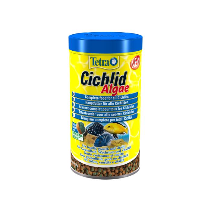 TETRA Tetra Cichlid Algae Mini Pašaras ciklidų žuvytėms