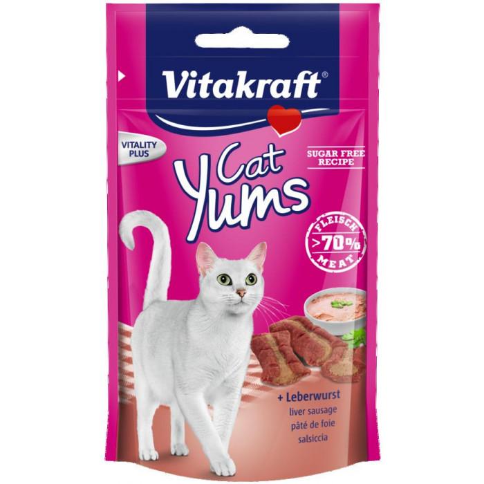 VITAKRAFT Cat Yums Skanėstas su kepenėlėmis