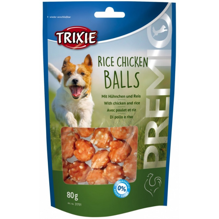 TRIXIE PREMIO Rice Chicken Balls Skanėstai šunims