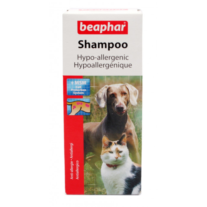 BEAPHAR Šampūnas prieš alergijas šunims ir katėms