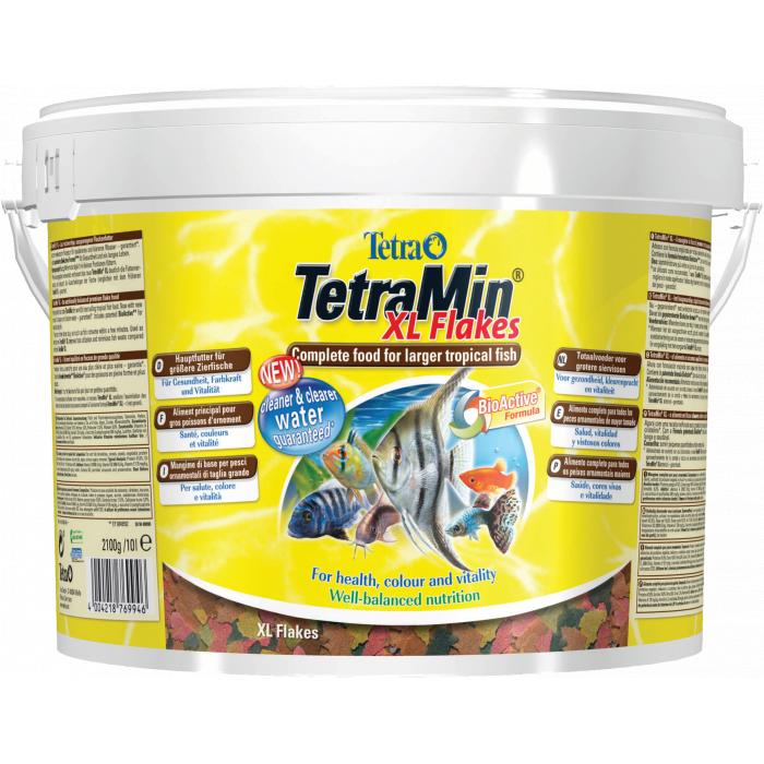 TETRA TetraMin FlakesXL Pašaras didelėms dekoratyvinėms žuvims
