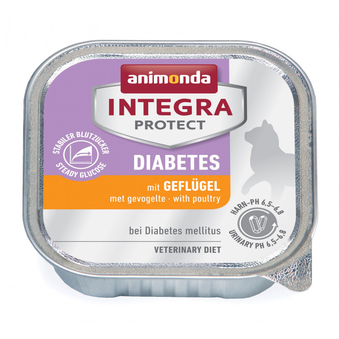 INTEGRA Integra Diabetes Konservuotas pašaras katėms su paukštiena