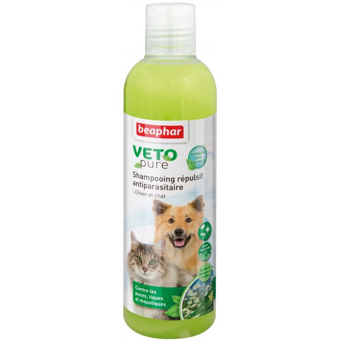 BEAPHAR VETO Pure Šampūnas nuo blusų, erkių, vabzdžių šunims ir katėms