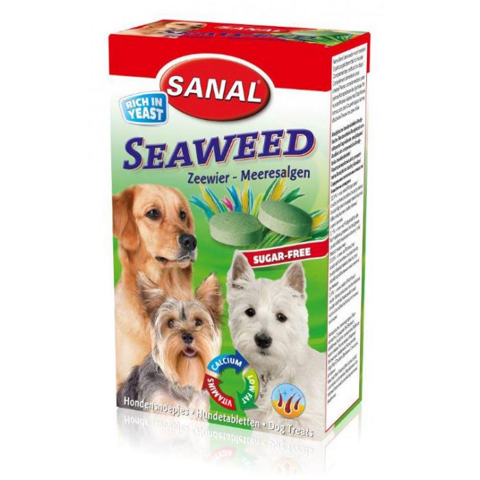 SANAL Dog Seaweed Pašaro priedas šunims su jūros kopūstais