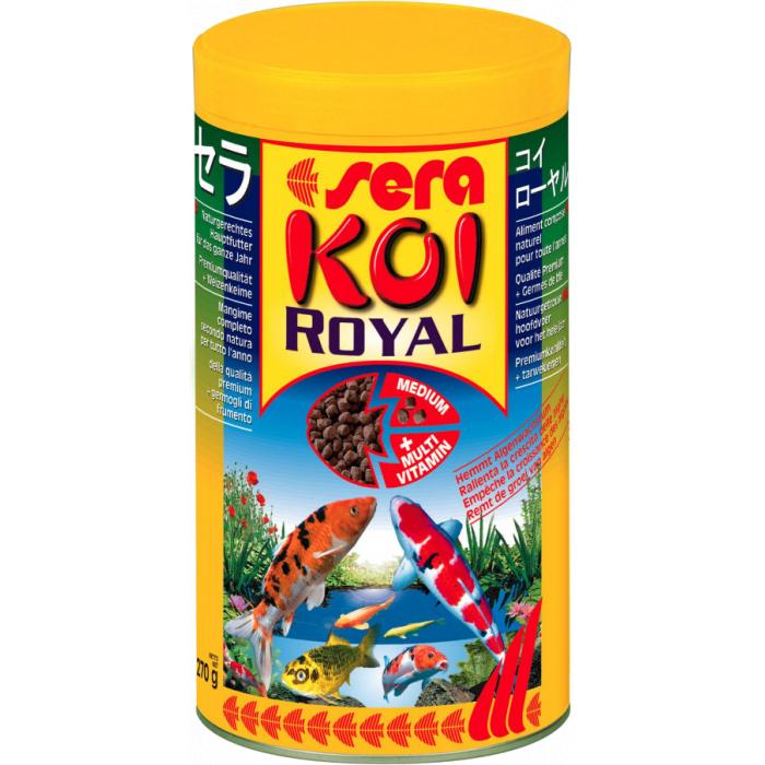 SERA Koi Royal Medium Pašaras karpiams