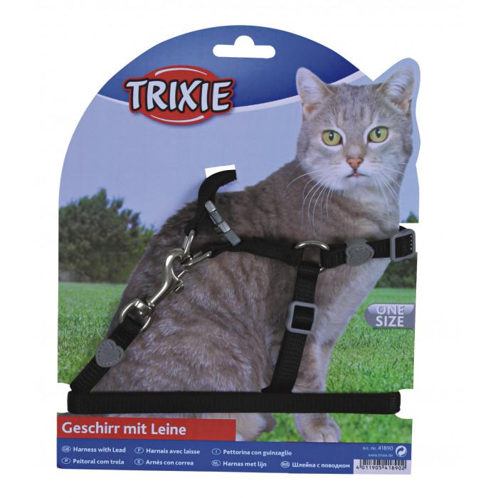 TRIXIE Petnešos ir pavadėlis katėms