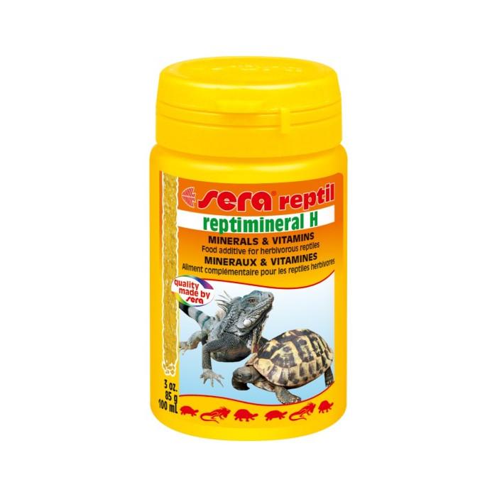 SERA Reptimineral H Vitaminai žolėdėms reptilijoms