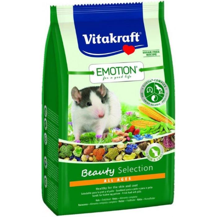VITAKRAFT Emotion Beauty Pašaras žiurkėms
