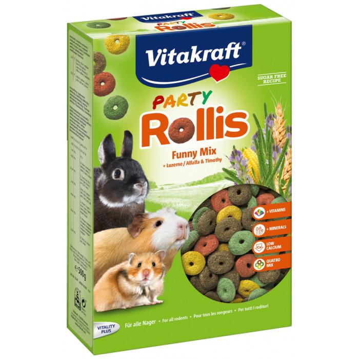 VITAKRAFT Rollis party Riestainiai graužikams