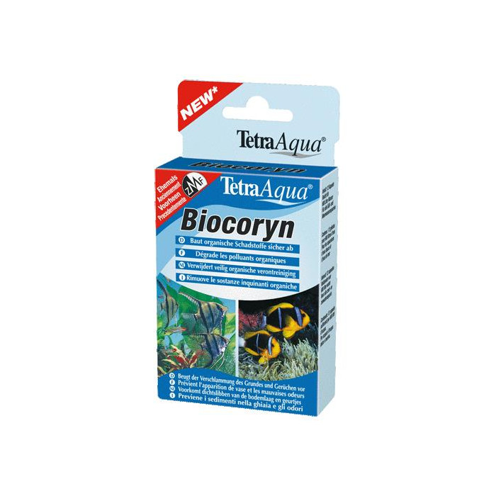 TETRA Aqua Biocoryn Priemonė organinės kilmės teršalams šalinti