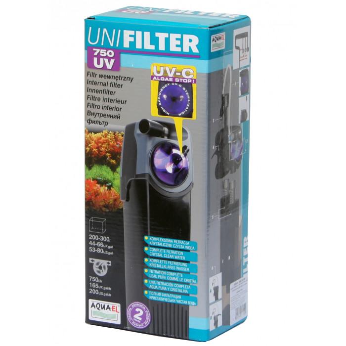 AQUAEL Unifilter UV Vidinis filtras su UV sterilizatoriumi akvariumui
