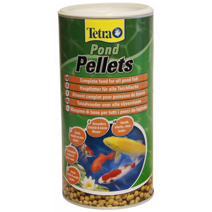TETRA TetraPond Pellets medium Pašaras tvenkinio žuvims nuo 20cm