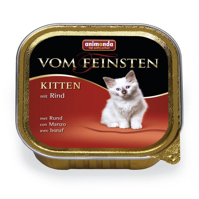 ANIMONDA Vom feinsten Konservuotas pašaras jaunoms katėms su jautiena