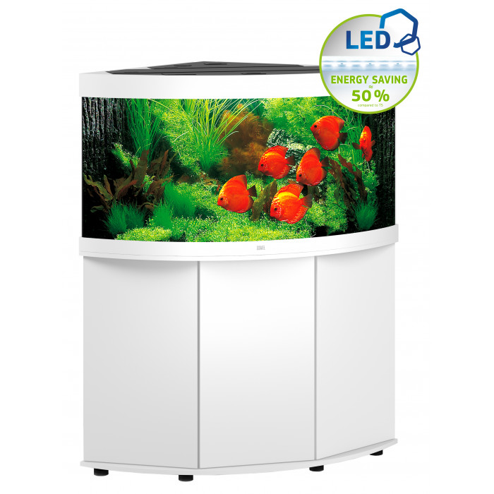 JUWEL LED Trigon 350 Akvariumas kampinis