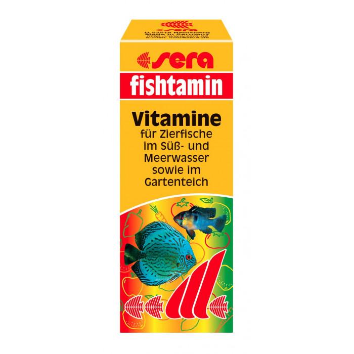 SERA Fistaminas Greitai Įsisavinami vitaminai žuvims
