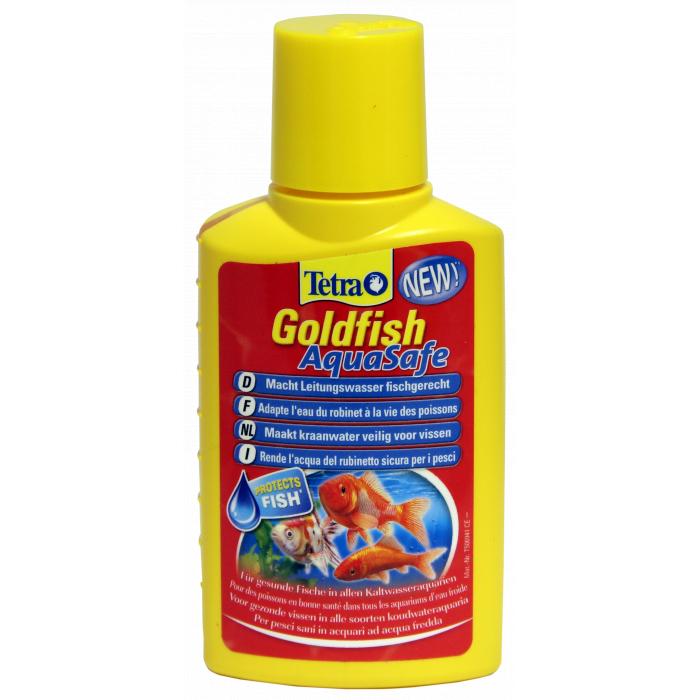TETRA Goldfish AquaSafe Priemonė auksinių žuvyčių akvariumo priežiūrai, 100 ml
