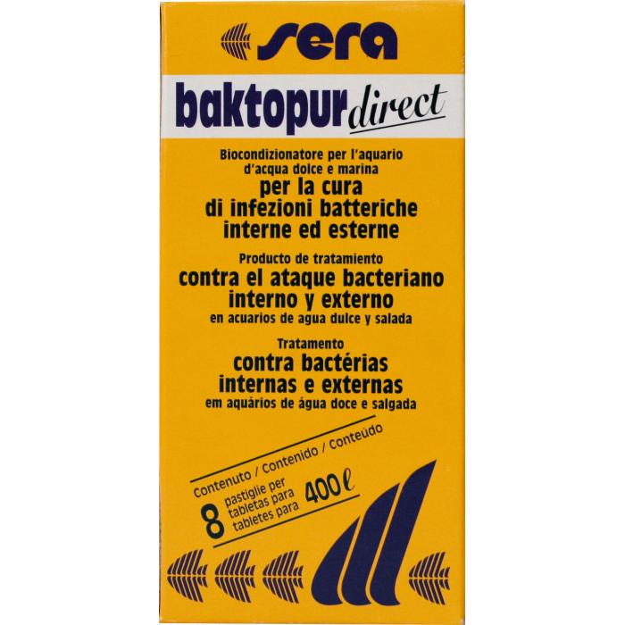 SERA Baktopur direct Priemonė prieš bakterines infekcijas