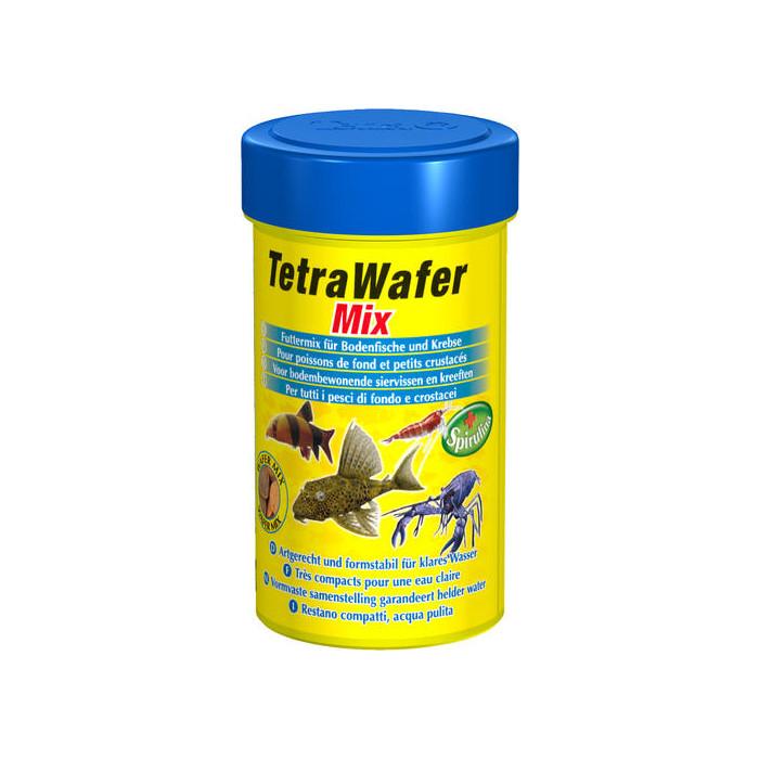 TETRA Wafer Mix Pašaras dugninėms žuvims ir vėžiagyviams