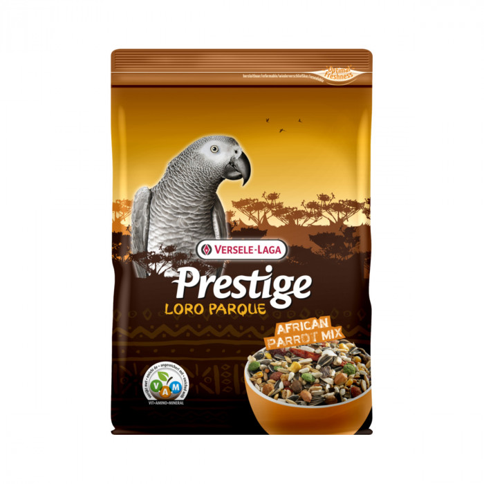 VERSELE LAGA Prestige Premium African Parrot mix Lesalas Afrikos didžiosioms papūgoms