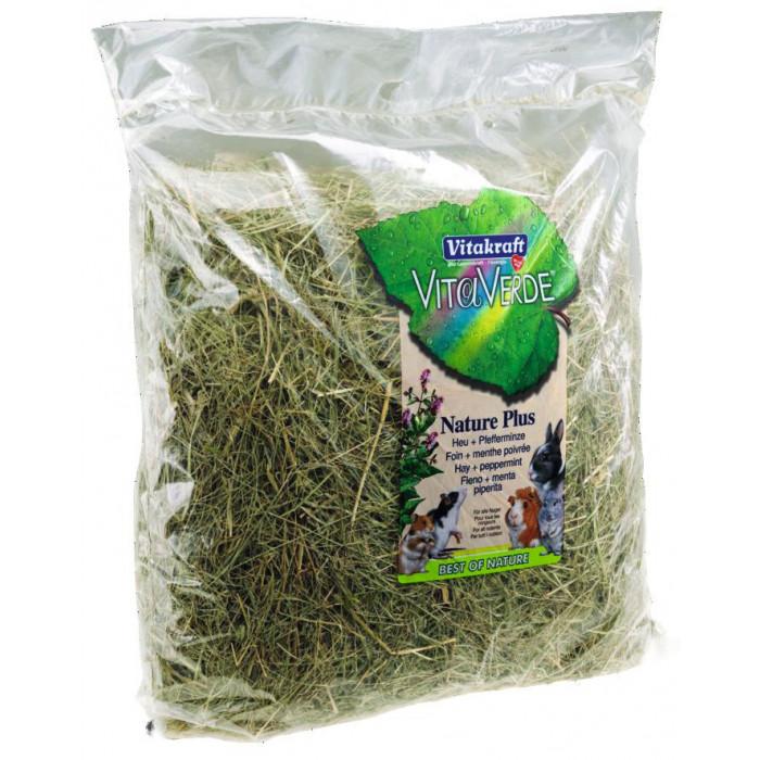 VITAKRAFT Vita Verde peppermint Šieno mišinys su pipirmėte