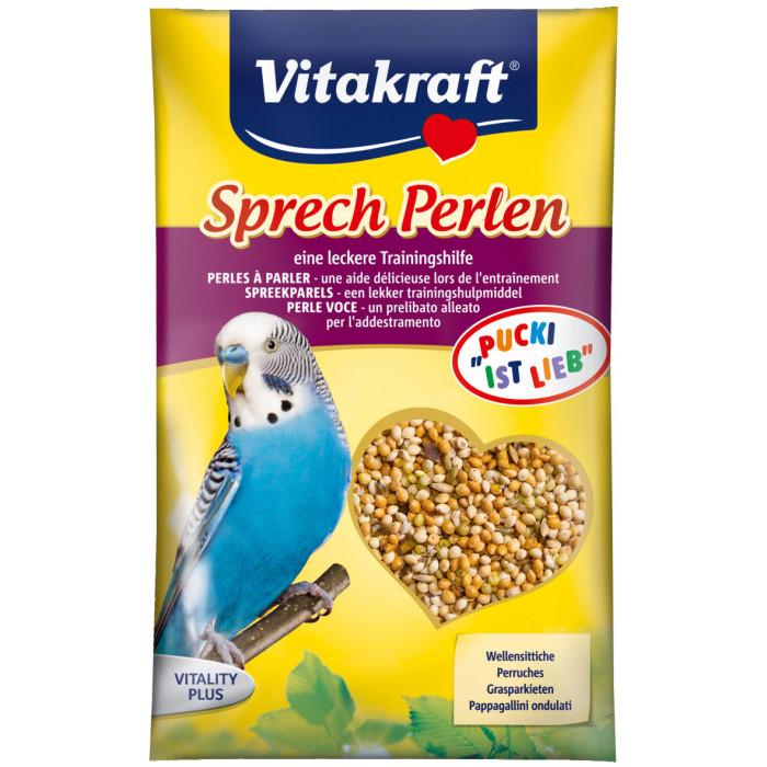 VITAKRAFT Sprech Perlen Vitaminizuotos sėklos banguotoms papūgėlėms