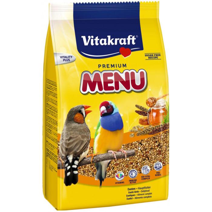VITAKRAFT Premium Menu Exotis Pašaras egzotiškiems paukščiams