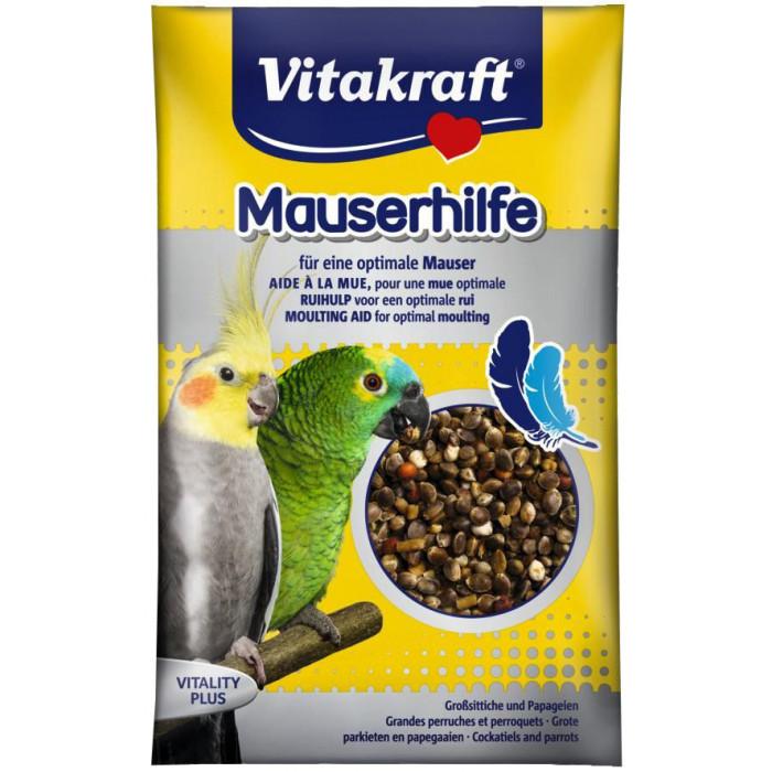 VITAKRAFT Mauser Hilfe Vitaminizuoti gardėsiai vidutinėms ir didelėms papūgoms