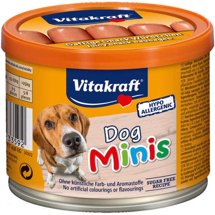 VITAKRAFT Dog Minis Konservuotos dešrelės