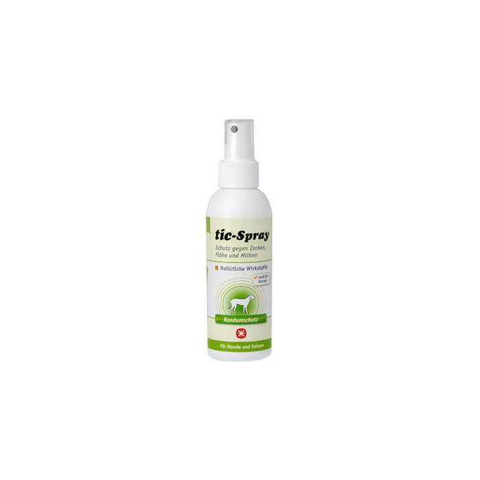 ANIBIO Tic-spray šunų ir kačių priežiūros priemonė - purškiklis nuo parazitų