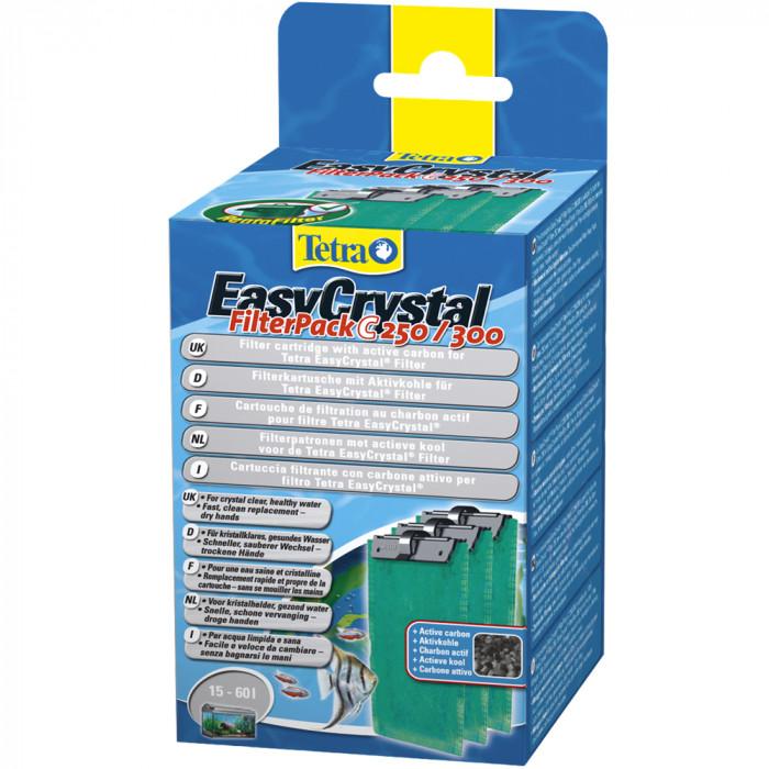 TETRA EasyCrystal FilterPack C 250/300 Kempinės su anglim