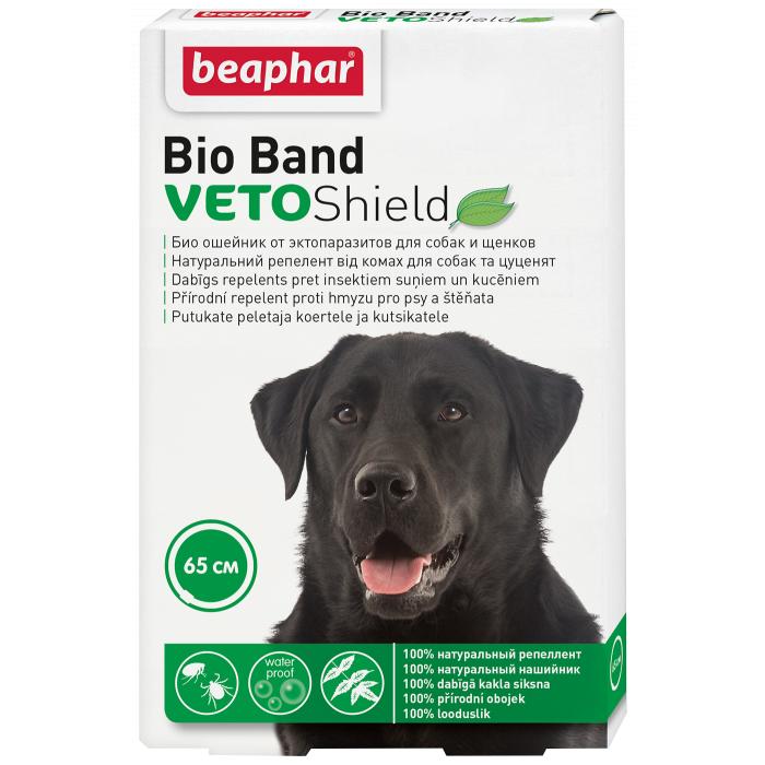BEAPHAR Bio-band Plius Antiparazitinis antkaklis šunims