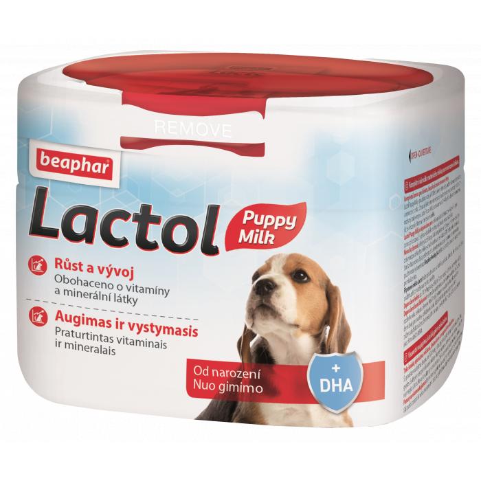 BEAPHAR Lactol Pieno pakaitalas šuniukams