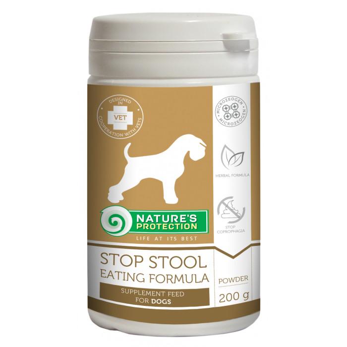 NATURE'S PROTECTION Stop stool eating Formula Pašaro papildas šunims
