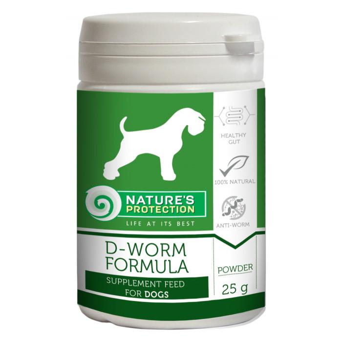 NATURE'S PROTECTION D-worm Formula Pašaro papildas šunims