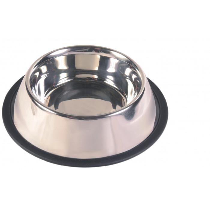 TRIXIE Dubenėlis šunims metalinis su guma