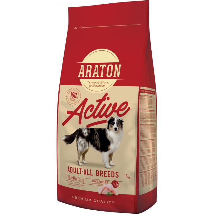 ARATON Adult active Pašaras suaugusiems šunims