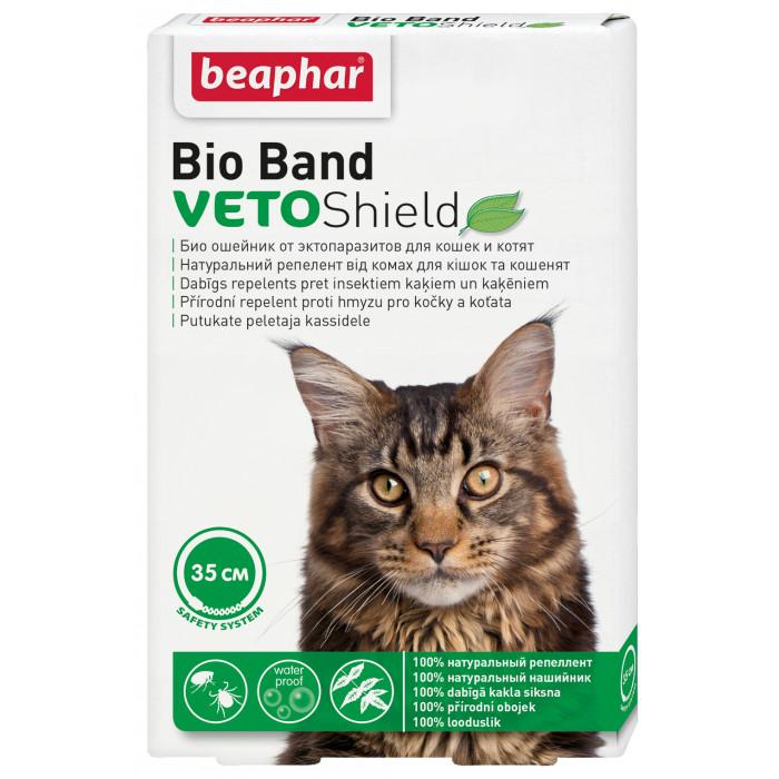 BEAPHAR Bio-band Plius Antiparazitinis antkaklis katėms