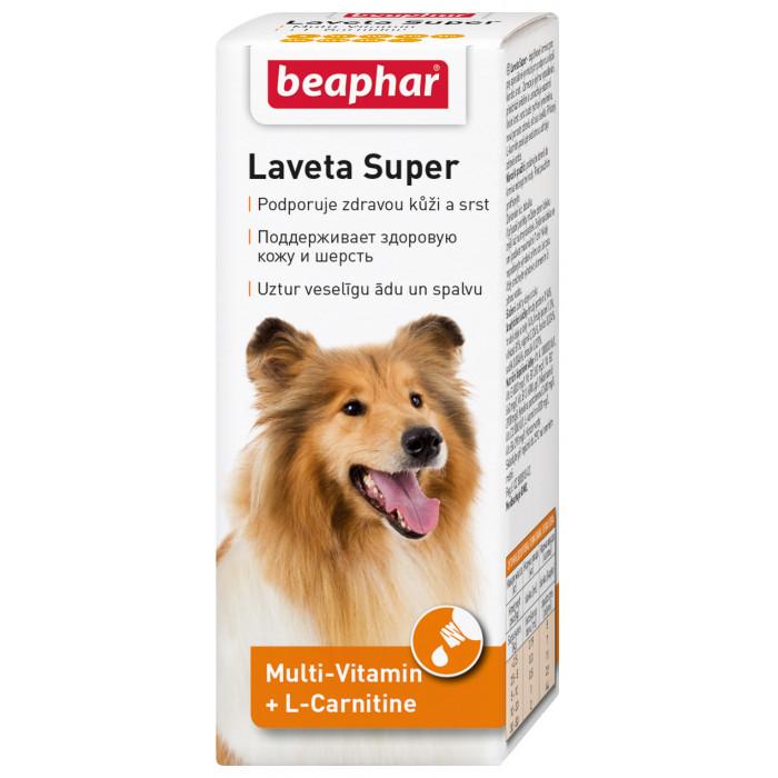 BEAPHAR Laveta super hund Vitaminai plaukui