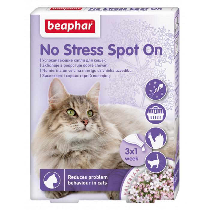 BEAPHAR No Stress Spot on Cat Lašai katėms
