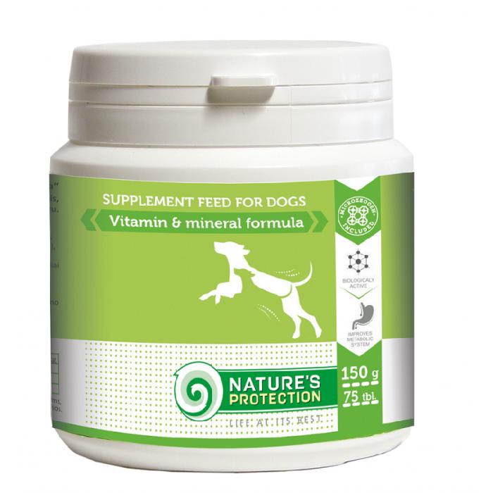 NATURE'S PROTECTION Vitamin & Mineral Formula Papildai šunims