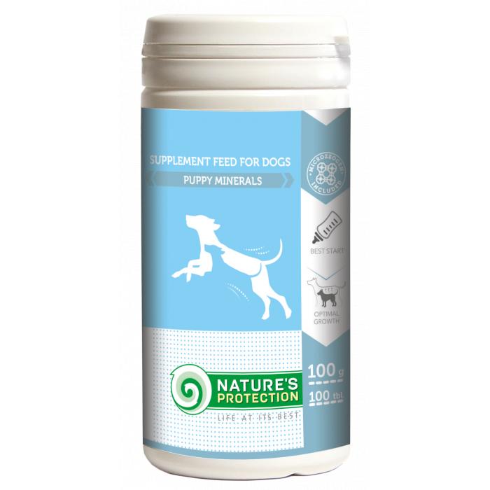 NATURE'S PROTECTION Puppy minerals Papildai šunims