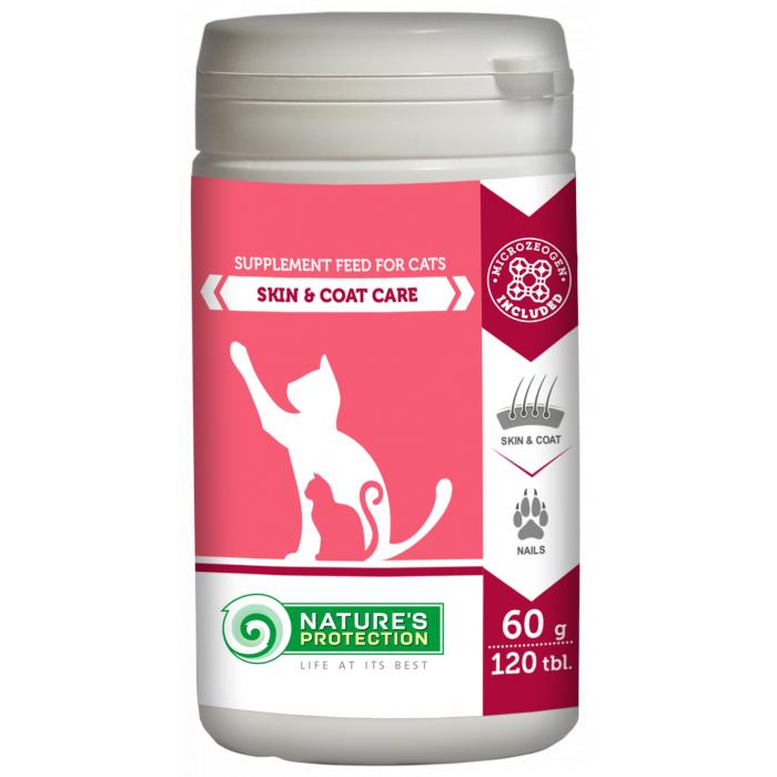 NATURE'S PROTECTION Skin and Coat Care Papildai katėms