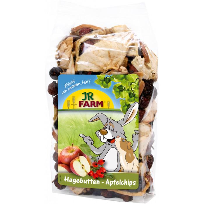 JR FARM Rose Hip Apple Chips Pašaro papildas graužikams