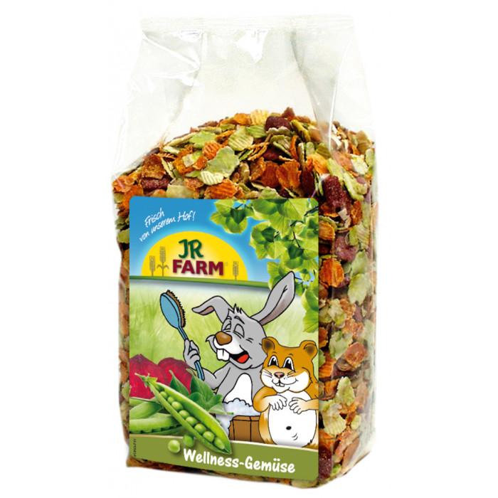 JR FARM Wellness Vegetables Pašaro papildas graužikams