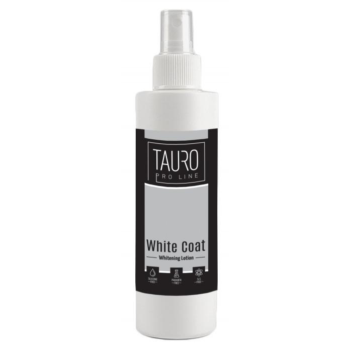 TAURO PRO LINE White Coat Whitening Losjonas šunims ir katėms,
