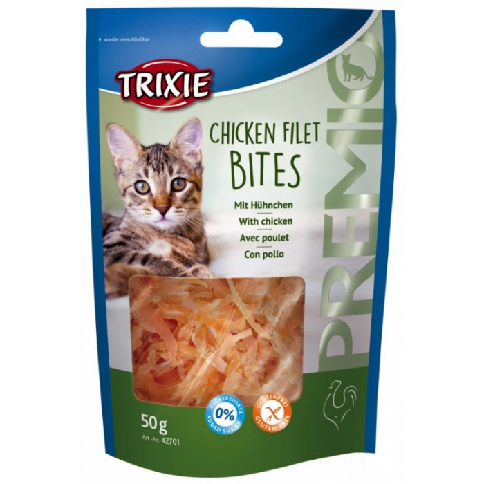 TRIXIE Esquisita Premio light Skanėstai katėms su vištiena