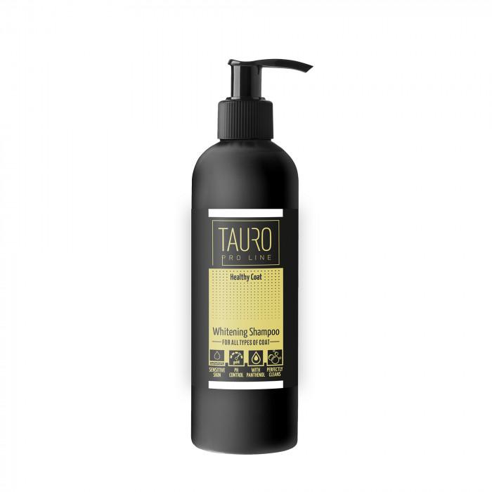 TAURO PRO LINE Whitening Shampoo šampūnas šunims ir katėms